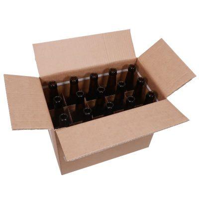 0,5 litran pullo laatikossa, 15 kappaletta