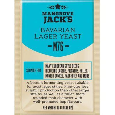 Mangrove Jacks bavarian lager hiiva