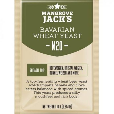 Mangrove Jacks bavarian wheat hiiva
