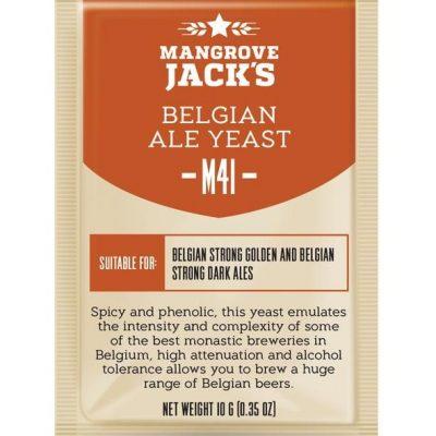 Mangrove Jacks belgian ale hiiva