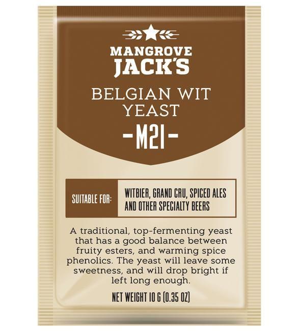 Mangrove Jacks belgian wit hiiva