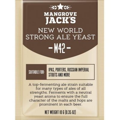 Mangrove Jacks new world strong ale hiiva