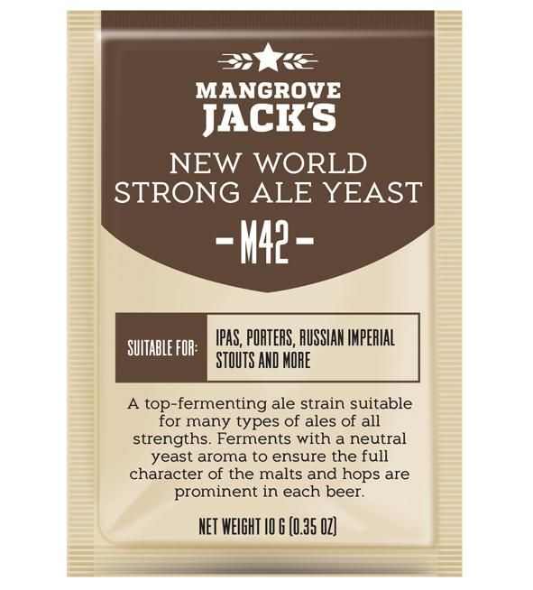 Mangrove Jacks new world strong ale hiiva