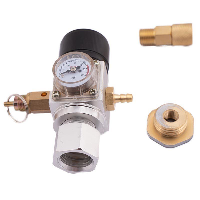 Miniregulaattori sodastream adapterilla