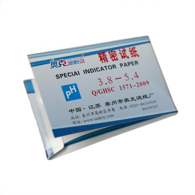 pH indikaattoripaperi 3.8 - 5.4