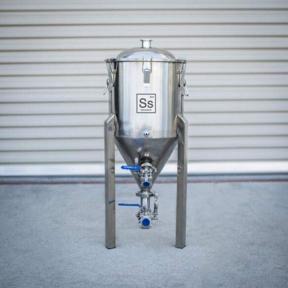 Ss brewtech teräksinen käymisastia 27 litraa