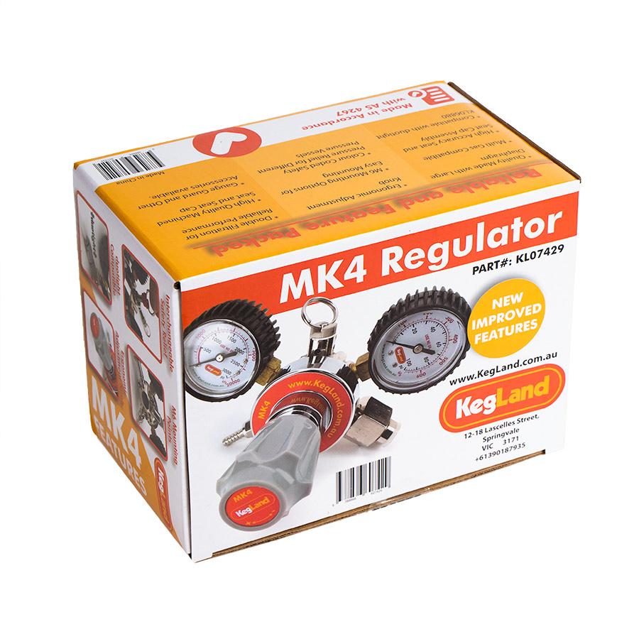 MK4 regulaattori hiilidioksidille laatikossa