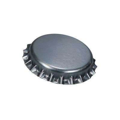 Kruunukorkki, hapensyöjä 26mm, hopea
