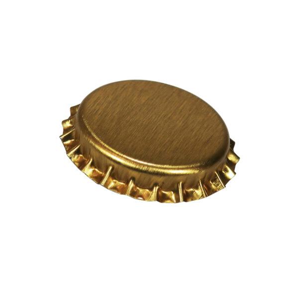 Kruunukorkki, hapensyöjä 26mm, kulta