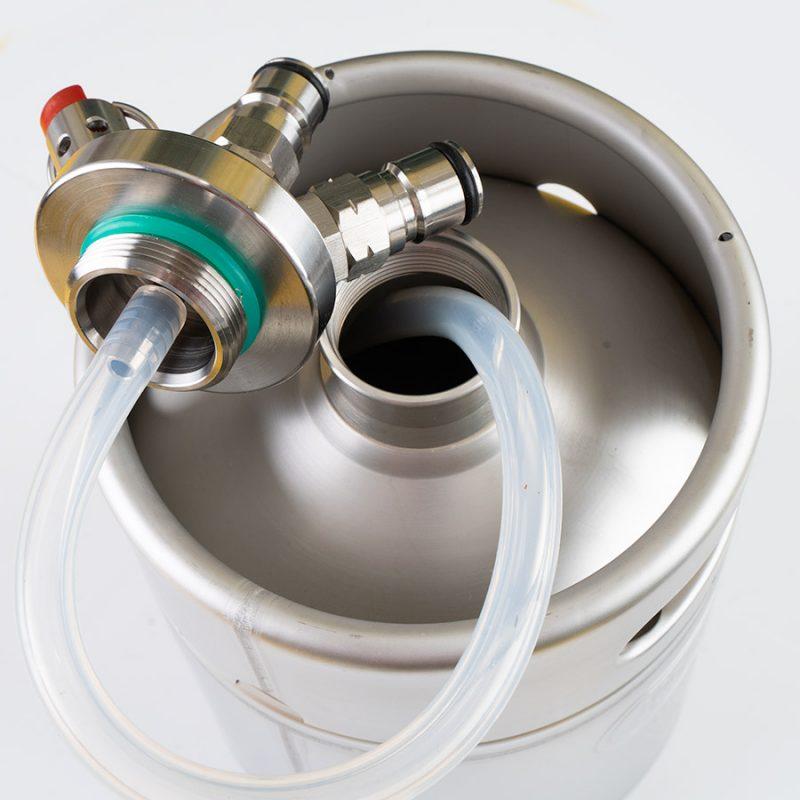 Kegland Mini-Keg 2 litraa ball-lock liittimillä