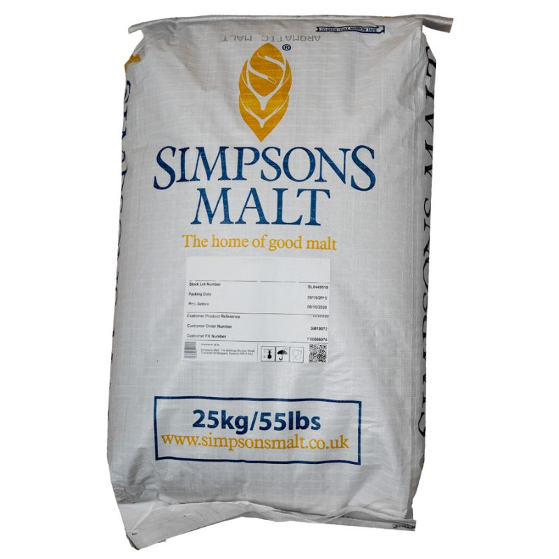 Simpsons Best Pale Ale Malt 25kg säkki