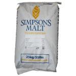 Simpsons Finest Pale Ale Golden Promise 25kg säkki