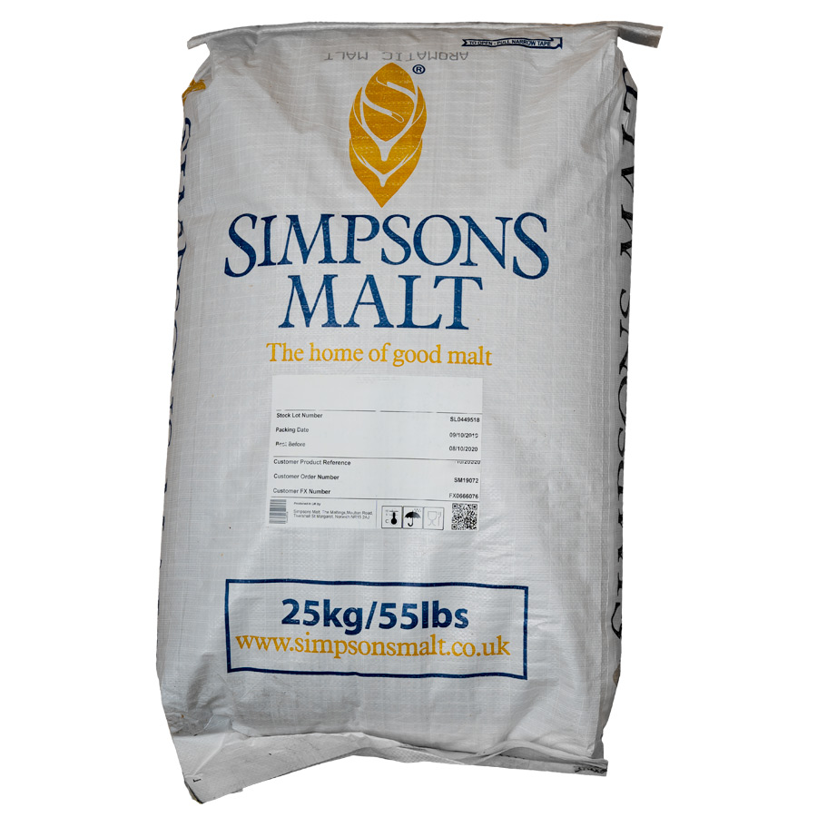 Simpsons Finest Pale Ale Golden Promise 25kg säkki
