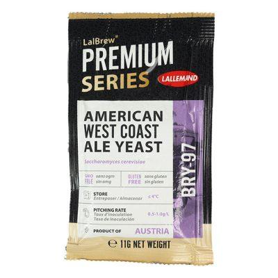 Lallemand American West Coast Ale Yeast BRY-97 kuivattu oluthiiva