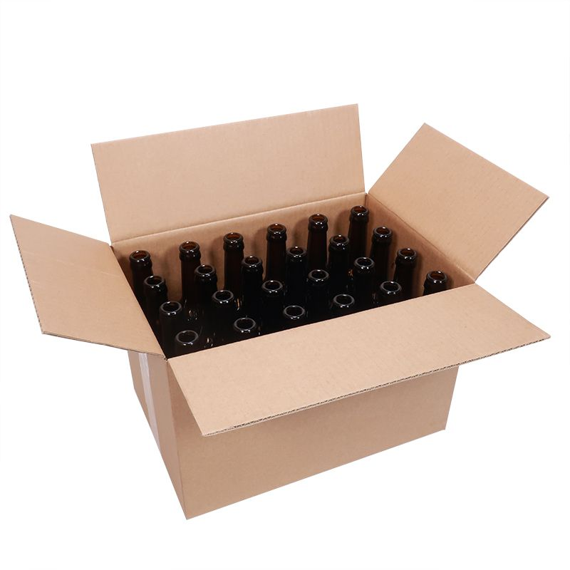 Uusi longneck (pitkäkaulainen)olutpullo, 24kpl laatikko