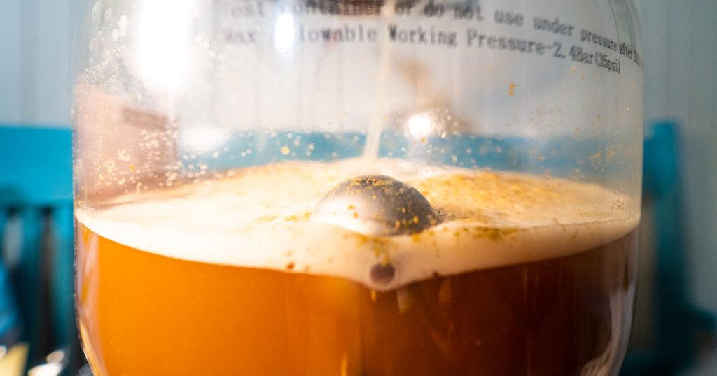 Paineistettu käyminen fermzillassa mahdollistaa oluen kypsymisen nopeammin