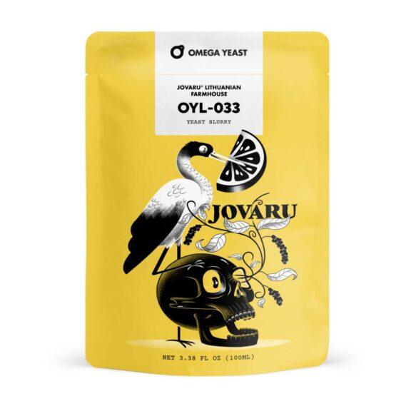 Omega Yeast Jovaru™ Lithuanian Farmhouse - OYL-033