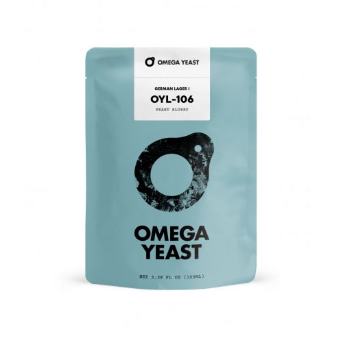 Omega Yeast German Lager 1 nestemäinen oluthiiva