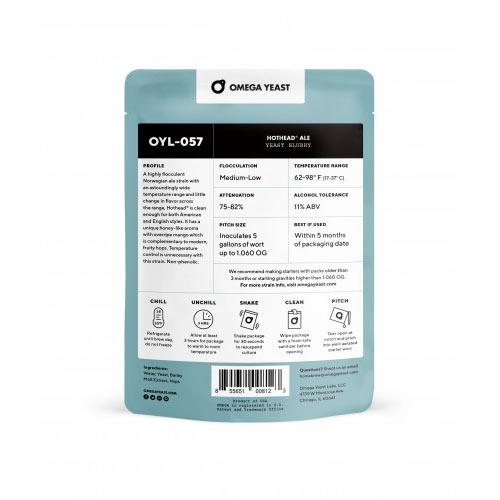 Omega Yeast HotHead® Kveik nestemäinen oluthiiva