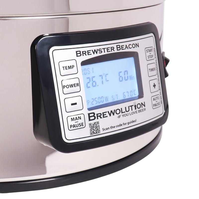 Brewster beacon 40l oluenvalmistuslaitteisto all-in-one mäskäysjärjestelmä kääntyvä näyttö