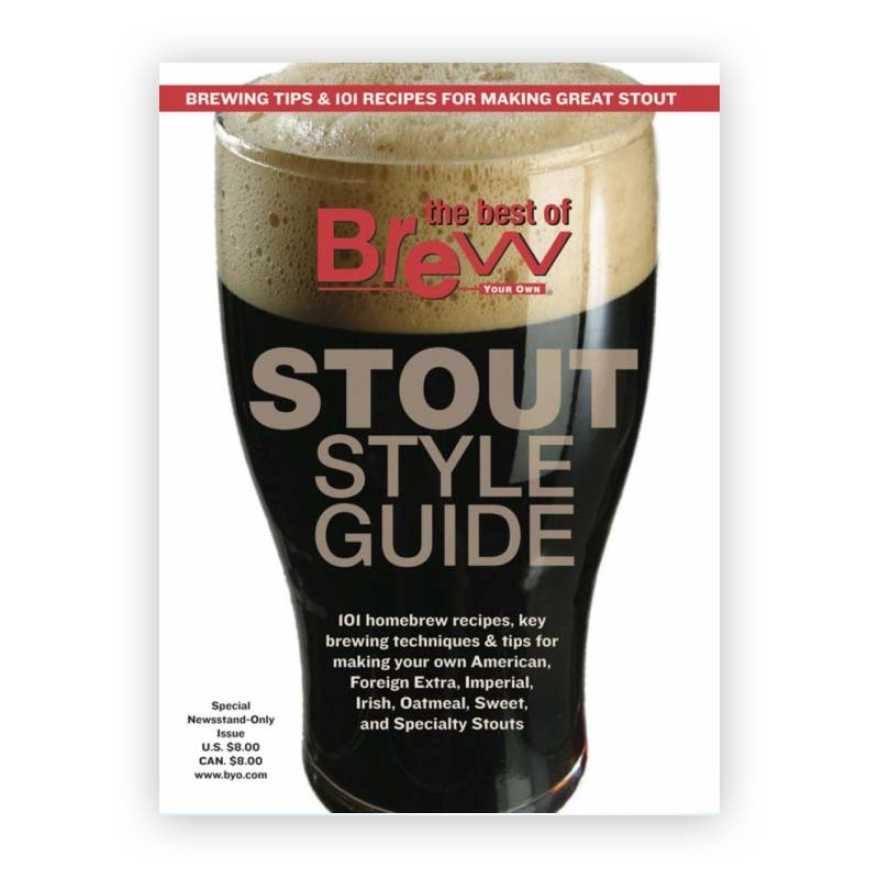 Brew your own - Stout style guide