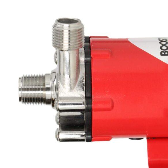 Brewferm Booster magneettipumppu liittimet