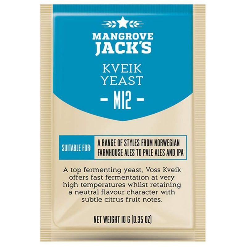 Kuivattu oluthiiva Mangrove Jack's M12 Kveik 10 g