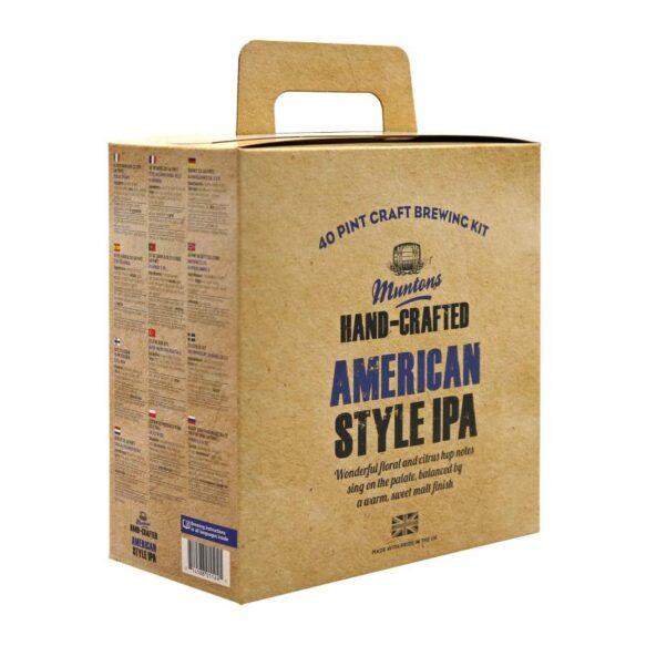 Olutkitti Beer kit Muntons Hand-Crafted American Style IPA, 3.6 kg