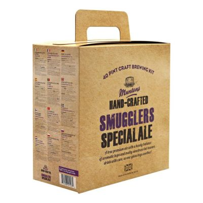 Olutkitti Muntons Hand-Crafted Smugglers Special Ale, 3.6 kg