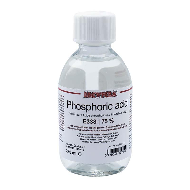 Brewferm fosforihappoliuos 75% - 230ml E338