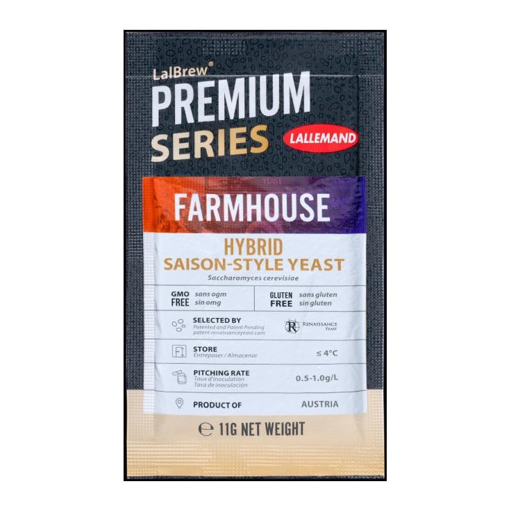 LALBREW FARMHOUSE™ - Hybrid Saison hiiva